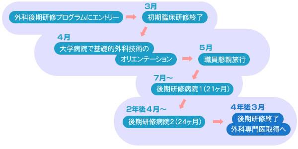 研修のスケジュール